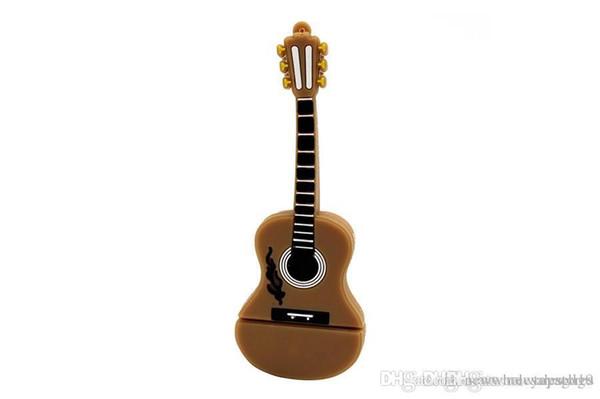 Reino Unido UK0001 HOT Cartoon usb 2.0 Instrumento musical piano guitarra nota violín 64GB USB flash drive pen drive 4GB 8GB 16GB 32GB U disco
