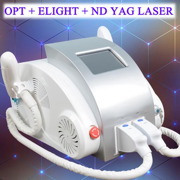 Q-Switch Nd Yag Laser Tattoo Entfernung Maschine IPL Hautverjüngung Elight Shr Haarentfernung Maschine Multi-Functional Beauty Equipment