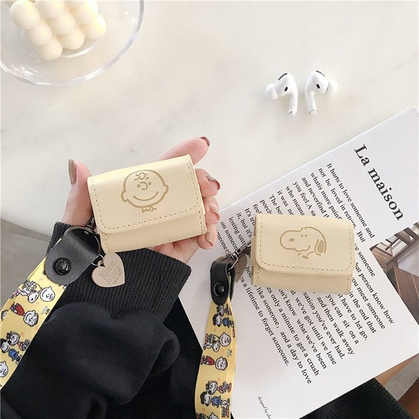 2020 Cute Cartoon Leather Case For Airpods Pro Gen 3 Protective