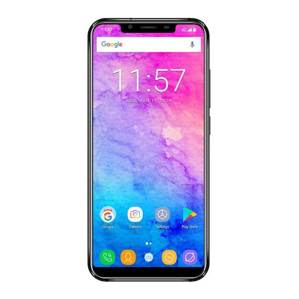 Oukitel U18 4GB RAM 64GB ROM 4000mAh Smartphone FACE ID Android7.0 MTK6750T Octa Cor 5.85Inch 21:9 Display 13MP+16MP 4G Fingerprin phone