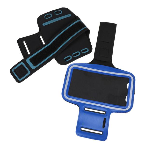 Arm Band Gürtel Arm Tasche 17 cm * 32 cm Phone Cases mit Kopfhörer Jack Schlüsselloch Sport Abdeckung Universal Wasserdichte Laufband Tasche