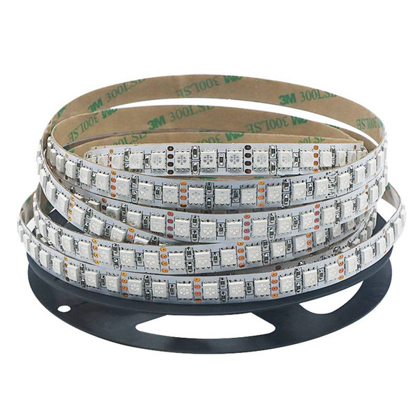 Edison2011 DC12V IP20 SMD 5050 RGB LED Streifen Licht Weiß PCB 120leds / m Multi Color Nicht wasserdichtes flexibles Klebeband