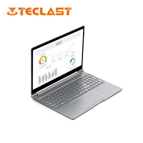 Teclast F15 Notebook 15.6inch Windows 10 Intel N4100 Quad Core 1.10GHz 8GB DDR4 RAM 256GB SSD Front Camera 2*USB3.0 HDMI Laptop