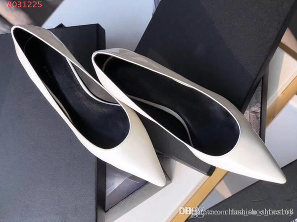 Womens Pure color coat of paint Office shoes , fashion dress prom shoes high quality pumps women high heels single shoes new