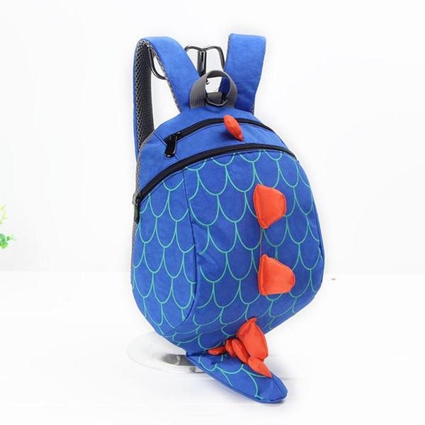 Children Kids Boys Girls Fashion Cute Cartoon 3D Dinosaur Shoulder Backpack Bags Children Action Figures Multiple Style /E