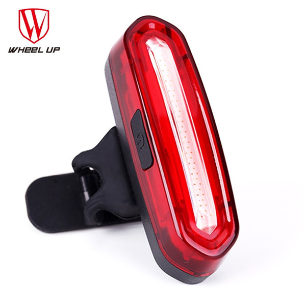 WHEEL UP Bike Tail Light Bicycle Rear light Cycling Tail-lamp Led Light Waterproof MTB USB Rechargeable Polychromatic Taillight #210347