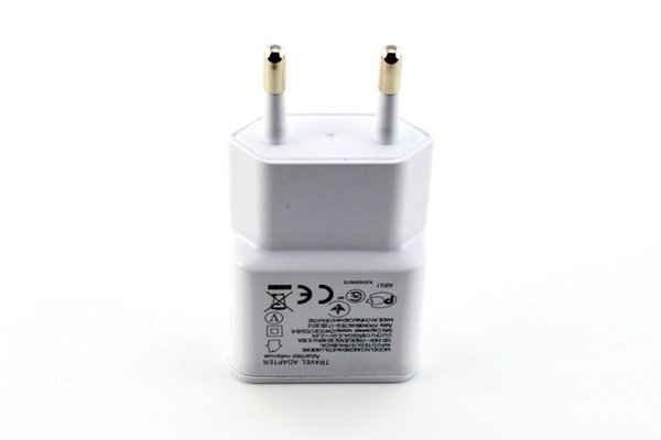 1000pcs CE Certificated 5V 1A US EU Plug Travel Wall Charger For Samsung Galaxy S4 Note 2 3 N7100 with charging protection