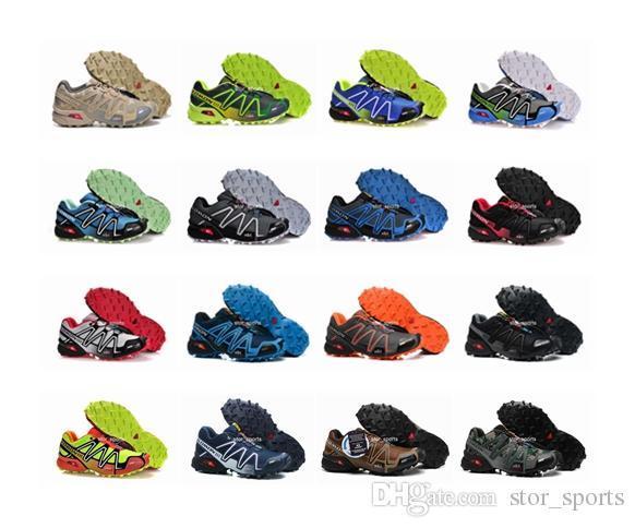 2018 salomon designer shoes neue marke speedcross 3 cs laufschuhe für männer, atmungsaktiv wasserdicht outdoor athletic sport turnschuhe wanderschuhe eur 40-46