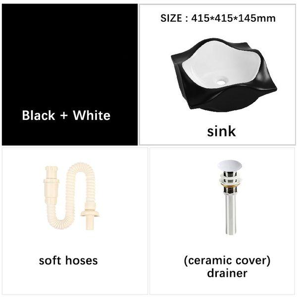 Mat Siyah Beyaz