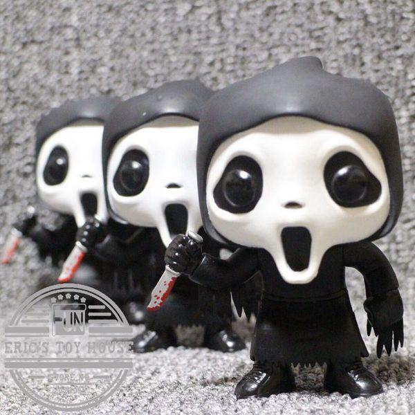 Funko Pop İkinci -El Korku çocuklar oyuncak Çığlık -Ghostface Vinil Eylem Şekil Koleksiyon Model Oyuncak Cadılar Bayramı hediye