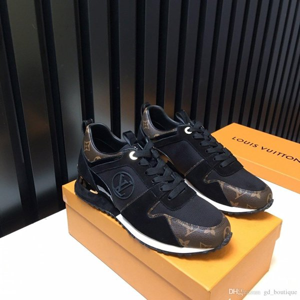 2019 New Mens Shoes Top Luxury With Origin Box Lace-up Outdoor Walking Comfortable Vintage Cool Street Casual Shoes