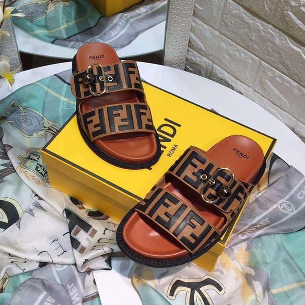 2019 sandálias das mulheres de luxo mais populares de Nova Primavera, sandálias de diamantes do designer verão, sandálias super lindas das mulheres, com caixa de 35-45