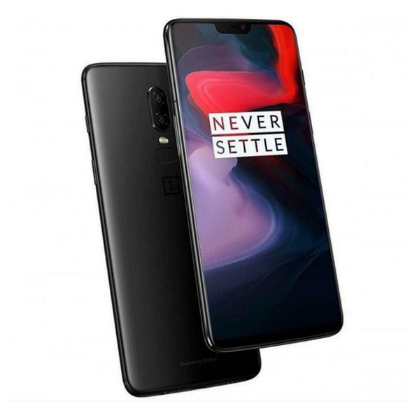 "Original One Plus 6 OnePlus 6 128GB ROM 8GB RAM Snapdragon 845 Octa Core 6.28"" Dual 20MP+16MP Android 8.1 Dash Charge Smartphone"