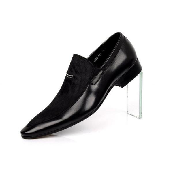2019 mens designers sapatos Formal Dos Homens Casuais Deslizamento Em Homens Sapatas de Vestido Homens De Negócios de Lona Oxford Sapatos Formais Para Homens Casuais