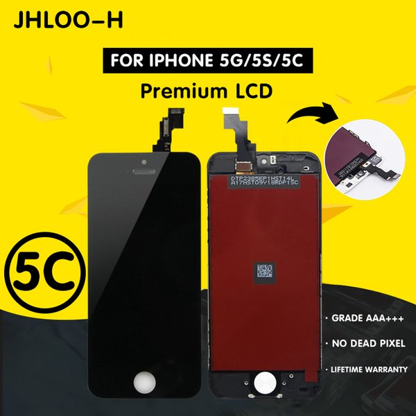 Wholesale AAA+++ Grade For iPhone 5S LCD With Touch Digitizer Display Assembly Screen Replacement No Dead Pixel