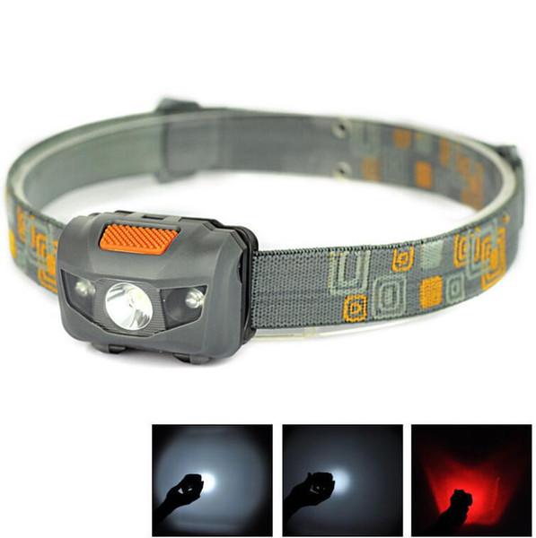 Mini Portable Projecteur 600lm phares cri R3 Phares 2 Phares LED lampe torche Lanterna avec bandeau Randonnée Camping