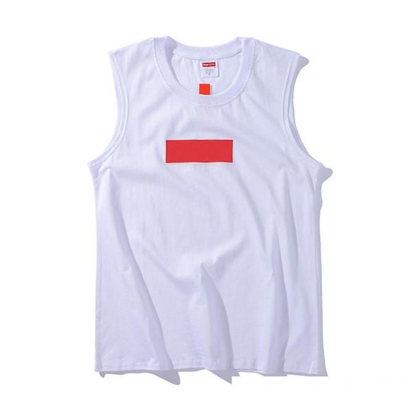 Box logo marque débardeurs pour hommes designer de haute qualité mode débardeur lettre classique logo impression tendance débardeurs Coton avec marque t-shirts