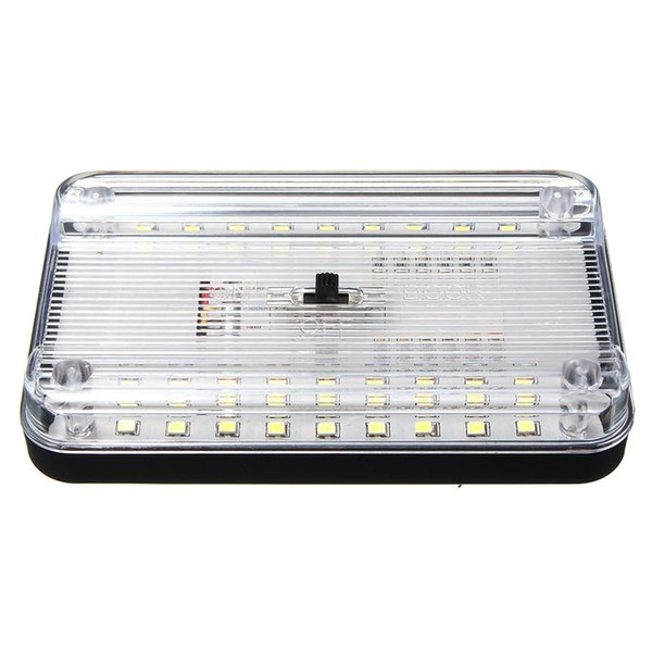 Universal 12V 36 LED Car Truck Auto Van Vehículo Domo de techo Interior Roof Lámpara de luz interior White Car Styling