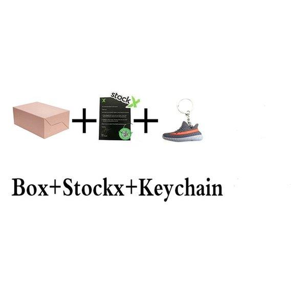with box+stockx+keychain