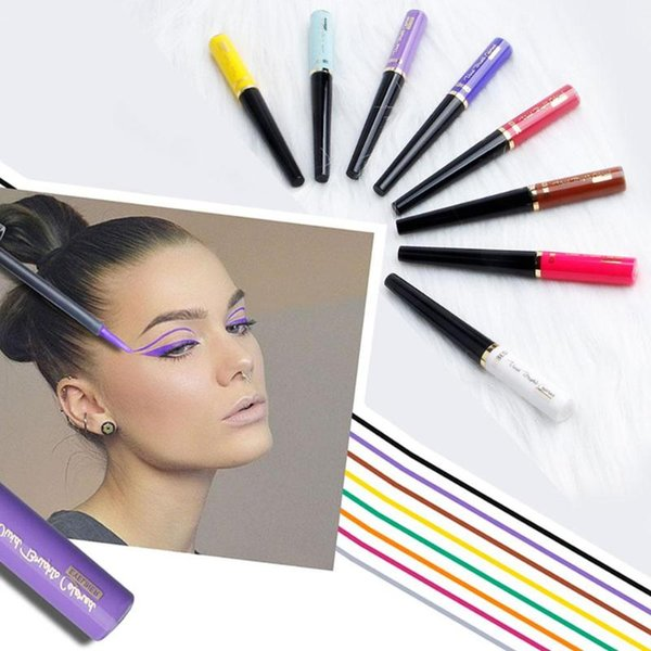 1pc Liquid Eyeliner Pencil Long-lasting Easywear Smooth Eye Liner Pen Cosmetic Waterproof Pen Precision Lady Beauty Makeup Tools