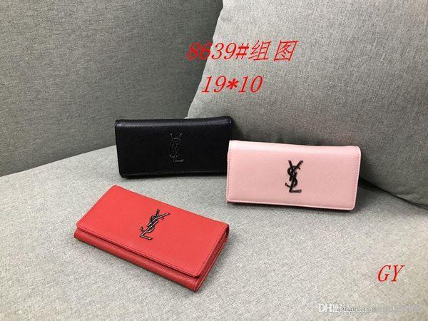GY 8639 # Mejor precio de alta calidad de las mujeres señoras solo bolso de mano hombro mochila bolso monedero billetera