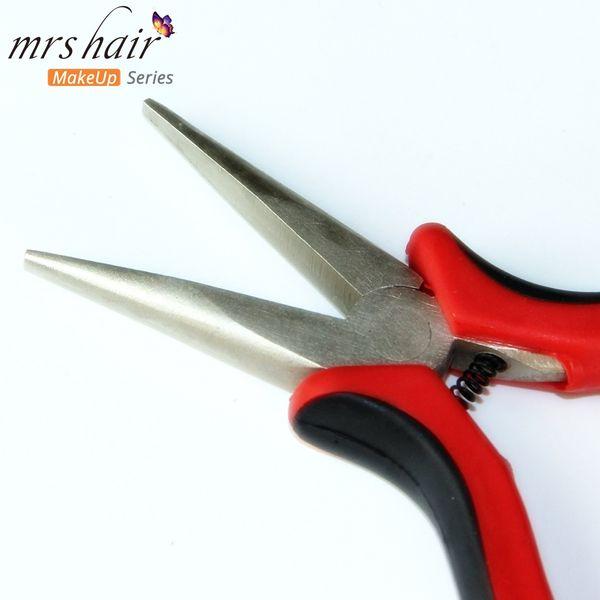 Extensions de Cheveux Pinces Extensions de Micro Perles Multifonctions Remover Remiers Red Extensions Pinces pour I Tip / Nano Beads Hair