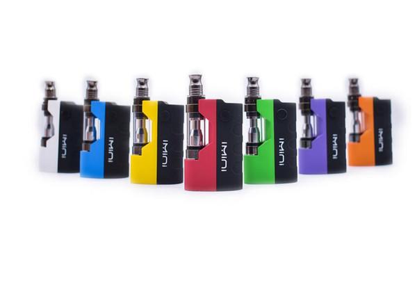 Оригинальные красочные Imini Mod Kit Vape Mods комплекты E сигареты испаритель 500 мАч Box Mod 0.5 мл 1.0 мл Vape картриджи Liberty V1 распылитель