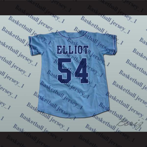 Chunichi Dragons Jack Elliot Mr. Baseball Filme Jersey NOVO Ponto Sewn-1