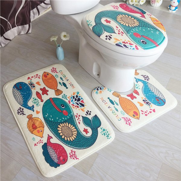 Fine 2019 Home Non Slip Fleece Floor Memory Foam Bathroom Mats Set Bath Seat Cover Pedestal Rug Toilet Mat Q190531 From Yiwang08 17 43 Dhgate Com Bralicious Painted Fabric Chair Ideas Braliciousco