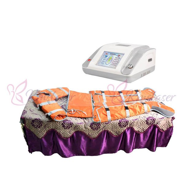 16pcs air bags 36V human safe voltage far infrared pressotherapy body wrap slimming machine detox lymphatic drainage spa machine