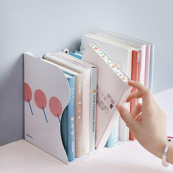 Sujetalibros retráctil para trabajo pesado Soporte metálico para libros Soporte para libros Soporte de escritorio