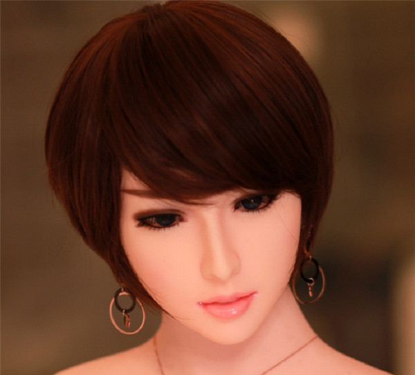 Qualidade lifesize bonecas sexuais de silicone cabeça cabeças de bonecas de amor oral apto para 140 cm a 170 cm tamanho total bonecas sexy toys para homens