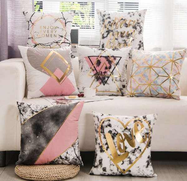 Groovy 45X45Cm Velvet Throw Pillowcase Love Modern Pillow Case Pillow Cover Bed Chair Sofa Diy White Gold Sequin Cushion Cover B532 Wicker Replacement Unemploymentrelief Wooden Chair Designs For Living Room Unemploymentrelieforg