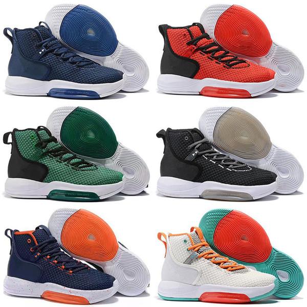 2019 Zoom Rise Hyperdunks 2019 Пол Джордж на открытом воздухе кроссовки для хорошего качества мужские спортивные кроссовки кроссовки Atsneaker