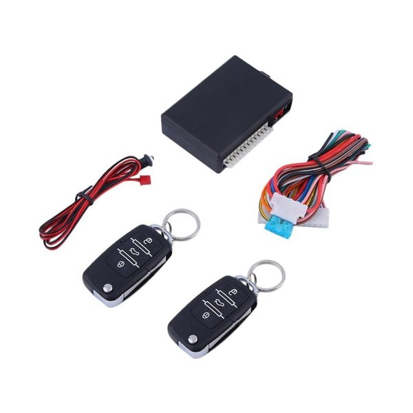 Car Keyless Entry System Central Locking with Remote Control Flashing alert Auto Remote Central Kit Door Lock Vehicle
