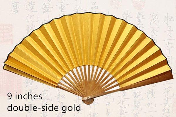 9quot; ouro de lado duplo