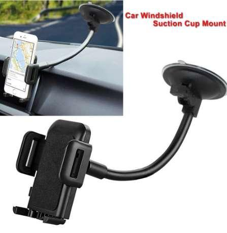 Universal Car Windshield Dashboard Suction Cup Mount Holder Stand For Cell Phone GPS Mobile Phones Accessories Hot Sale