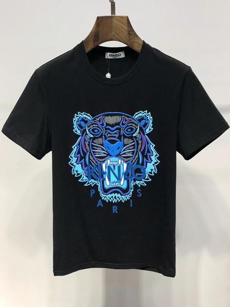 2019 Luxury Brand New Designer Abbigliamento da uomo Magliette Hip Hop Logo Mens Designer Magliette Moda donna manica corta Tees
