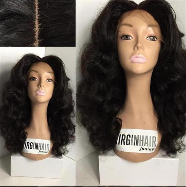 8a gluless lace front human hair wig,brazilian virgin hair full lace human hair wigs,wavy full lace front human wigs black women