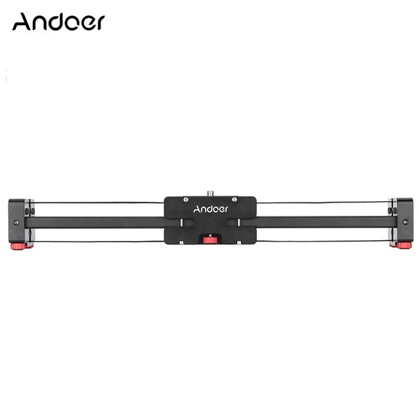Freeshipping V2-500 Compact Retractable Track Dolly Slider 50cm Rail Shooting Video Stabilizer for Camcorders DSLR SLR Cameras and DVs