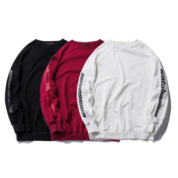 YouthCodes Kanye West Season4 Sweatshirt Men Hip Hop Raper Calabasas Rocky Punk High Street New York Hoodie Fashion Winter Cloth C18122901