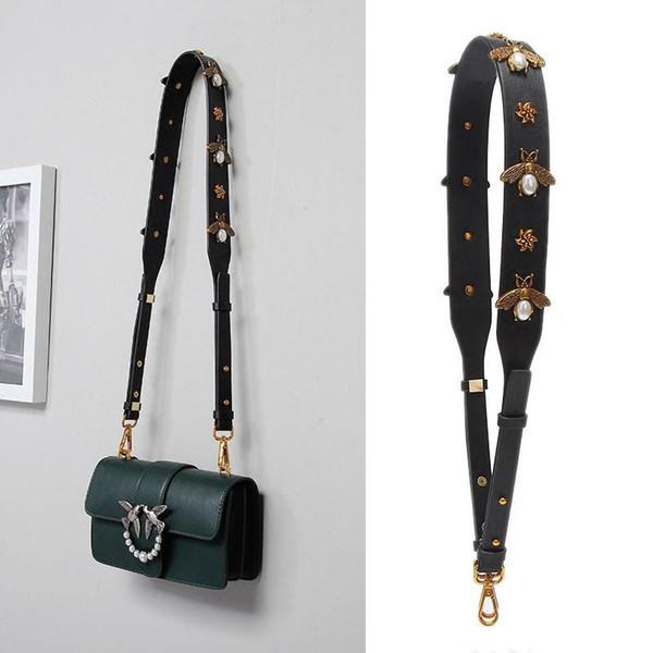 Cinghie con cinturino in pelle a forma di borsetta con cinturino in pelle per donna