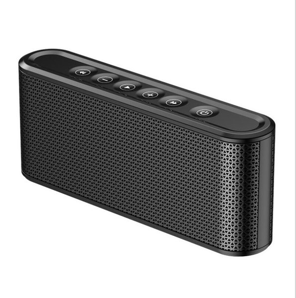 X6 Wireless Bluetooth Speaker 8000mAh Power Bank Charger Outdoor Sport Micro SD Card USB Flash For cellphone Smart phone