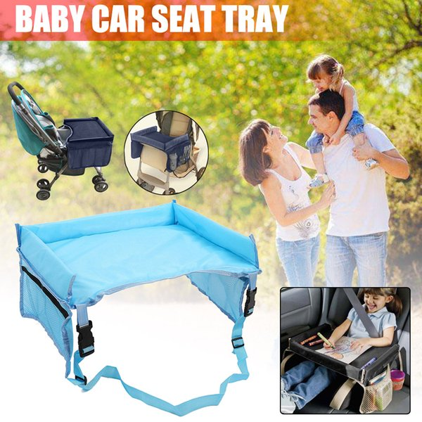 Accessori auto per Baby Car Seat vassoio Passeggino Tavolo Bambino portatili con regolabile Sedile Cinghia Protector Tray