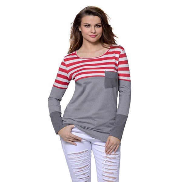 3901120000 2018 Autumn and Winter Casual Product O-Neck Female T-Shirt Long Sleeve  Shirt Women Womens Christmas Shirts LC0001