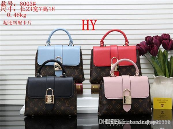 2019 styles Handbag Fashion Leather Handbags Women Tote Shoulder Bags Lady Handbags Bags purse D329