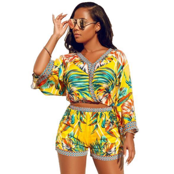 Летние женские спортивные костюмы модельер спортивные костюмы для женщин роскошные топы шорты повседневная женская одежда S-2XL оптом