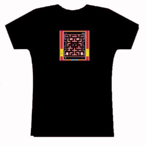 Ms. Pacman vintage video game T Shirt