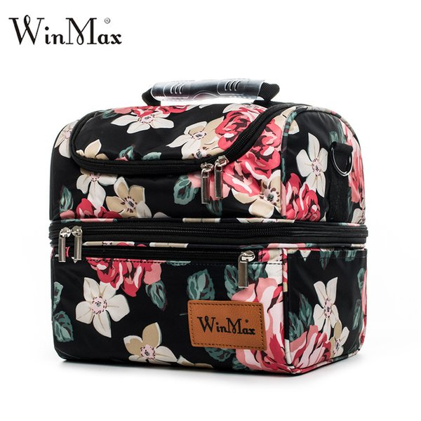 good quality Brand Thicken Nylon Cooler Lunchbox Insulated Thermal Food Fresh Wine Picnic Tote Handbags Men Women Cooler Bag Lunch Bag