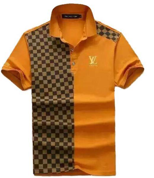 New 2019 Wholesale clothing Men's G T-Shirts Full screen tiger printing hip hop clothing mens designer shirts plus size blue Khaki 815